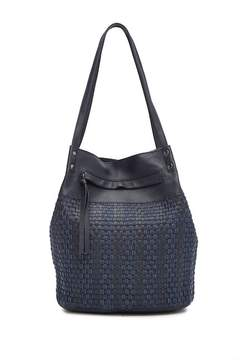 Kooba Tulum Denim and Leather Shopper
