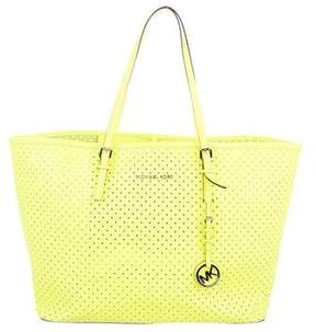 MICHAEL Michael Kors Perforated Leather Tote