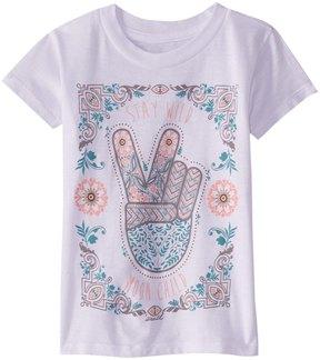 O'Neill Girls' Wild Child Tee Shirt (Toddler, Little Kid) 8168242