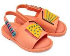 Mini Melissa Baby's and Toddler's Mia Fabula Sandals