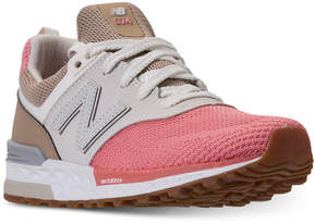 New Balance Big Girls' 574 Sport Casual Sneakers from Finish Line