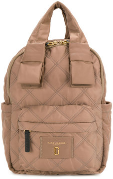 Marc Jacobs quilted backpack - BROWN - STYLE