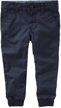 Osh Kosh Toddler Boy Slim Stretch Twill Jogger Pants