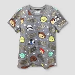 Star Wars Girls' Short Sleeve T-Shirt - Gray