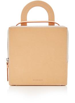 Building Block Vegetable Tan Box Bag