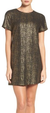 Felicity & Coco Women's Metallic Shift Dress
