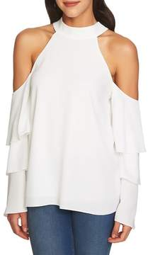 1 STATE 1.STATE Cold Shoulder Blouse