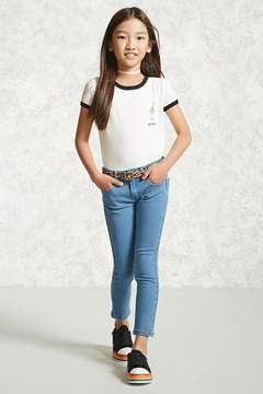 Forever 21 Girls Skinny Jeans (Kids)