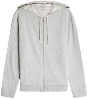 Majestic Zipped Cotton Jacket with Hood