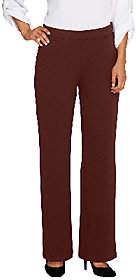 Bob Mackie Bob Mackie's Textured Wide Leg Pull-On Knit Pants