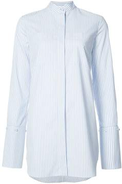 ADAM by Adam Lippes Striped blouse with stand collar