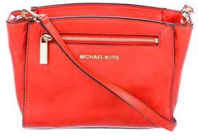 MICHAEL Michael Kors Leather Zip Crossbody Bag