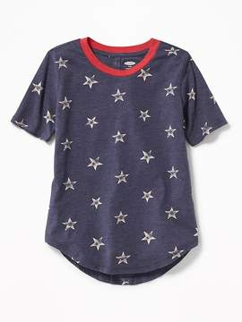 Old Navy Americana Stars Tunic Tee for Girls