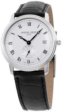 Frederique Constant Slimline FC245M4S6 Silver Tone Stainless Steel & Silver Dial 37mm Mens Watch