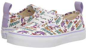 Vans Kids Authentic Elastic Lace x Dallas Clayton (Little Kid/Big Kid)