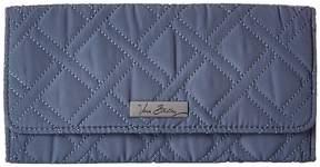 Vera Bradley Trifold Wallet Wallet Handbags - CHARCOAL - STYLE