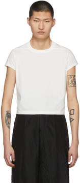 Rick Owens White Short Level T-Shirt