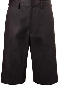 Dries Van Noten Slim-Fit Cotton And Linen-Blend Shorts