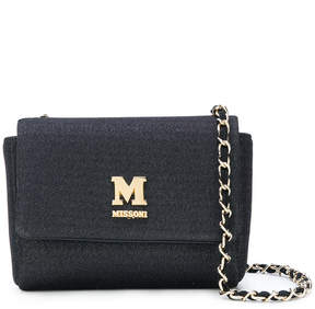 M Missoni chain strap shoulder bag