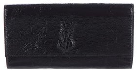 Saint Laurent Belle de Jour Clutch - BLACK - STYLE