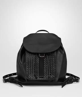 Bottega Veneta Nero Intrecciato Calf Backpack