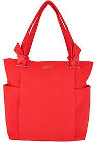 Vera Bradley Microfiber Hadley Shopper Handbag