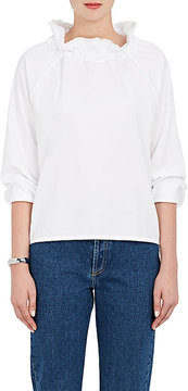 Atlantique Ascoli Women's Boheme Piqué Cotton Blouse