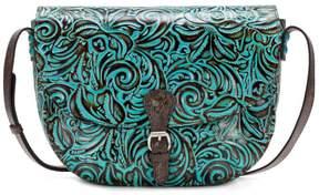 Patricia Nash Rosolini Leather Saddle Bag