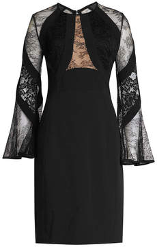 Elie Saab Dress with Cotton, Silk and Lace