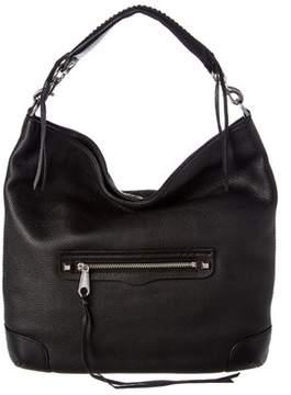 Rebecca Minkoff Slim Regan Leather Hobo. - BLACK - STYLE