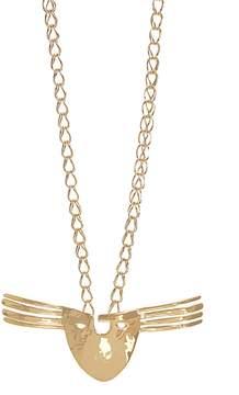 Aurelie Bidermann Melina Mask gold-plated necklace