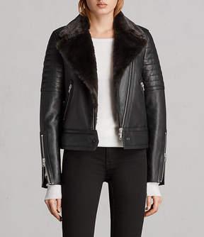 AllSaints Perkins Lux Biker Jacket