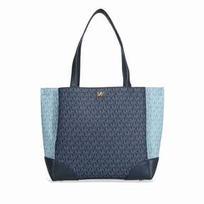 Michael Kors Gala Medium Logo Tote- Admiral/ Pale Blue - ONE COLOR - STYLE