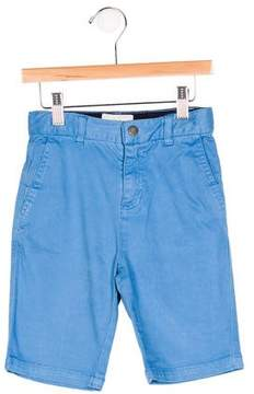 Stella McCartney Boys' Flat Front Four Pocket Shorts