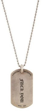 Chrome Hearts Expletive ID Tag Pendant Necklace
