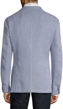 Corneliani Men's Slim Fit Textured Knit Sportcoat