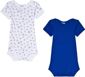 Petit Bateau Pack of 2 Baby Bodies