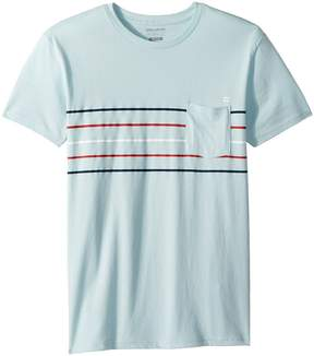 Billabong Kids Team Stripe Tee Boy's T Shirt