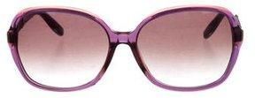 Bottega Veneta Oversize Intrecciato Sunglasses