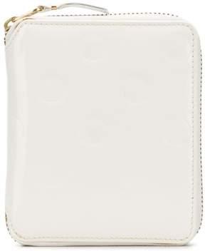 Comme des Garcons dot detail zipped wallet
