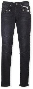 Vigoss Girls 7-16) Moto Studded Skinny Jeans