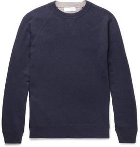 Brunello Cucinelli Mélange Virgin Wool, Cashmere And Silk-Blend Sweater