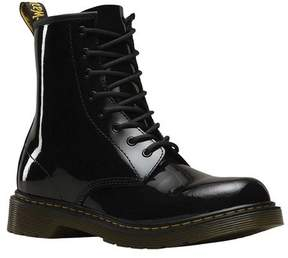 Dr. Martens Unisex Children's Delaney 8 Eye Side Zip Boot - Youth