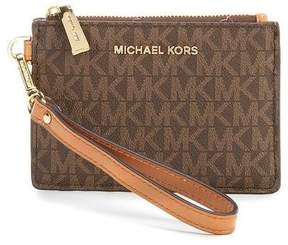 Michael Kors Mercer Logo Coin Purse - Brown - 32T7GM9P1V-200 - MULTICOLOR - STYLE