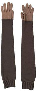 Hermes Cashmere Elbow-Length Gloves w/ Tags