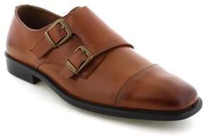 Deer Stags Colin Men's Twin Buckle Monk Dress Shoes