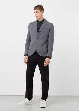 Mango Outlet Slim-fit unstructured wool-blend blazer