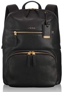 Tumi Voyageur Halle Leather Backpack