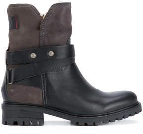 Tommy Hilfiger panelled boots