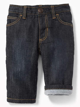 Old Navy Micro Fleece-Lined Jeans for Baby
